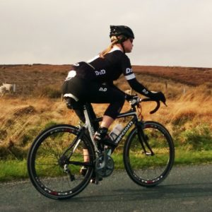 road cyclist wearing D2D cycling clothing