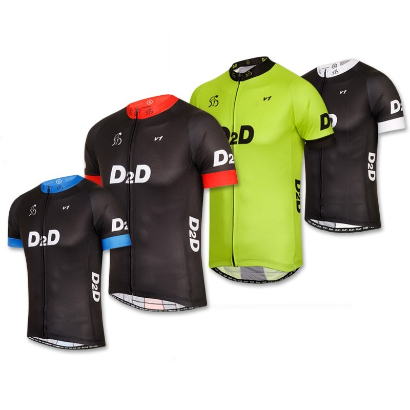 8ba6d9ed6 Men s Short Sleeve Cycling Jersey v1 - D2D Cycling Clothing