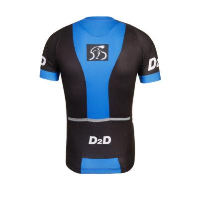 D2D Jersey V1 Blue Back