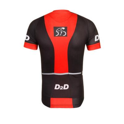 D2D Jersey V1 Red Back