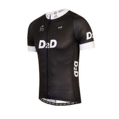 D2D Jersey V1 White Angle