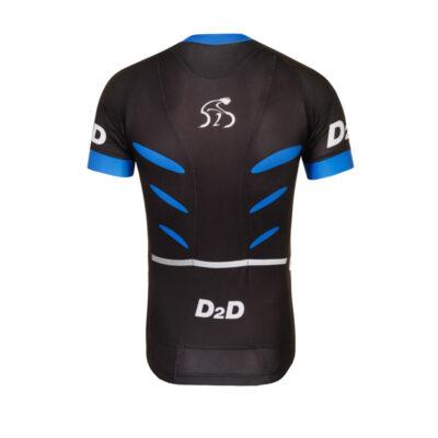 D2D Jersey V2 Blue Back