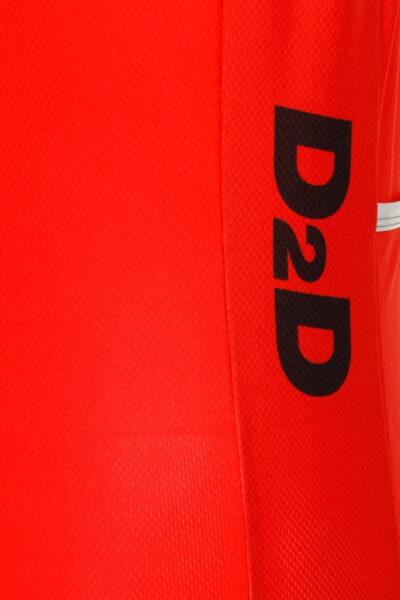 D2D Jersey V3 Red Detail