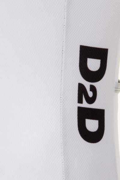 D2D Jersey V3 White Detail