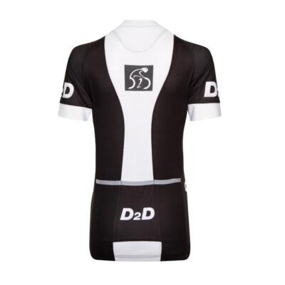 D2D Ladies Jersey V1 White Back
