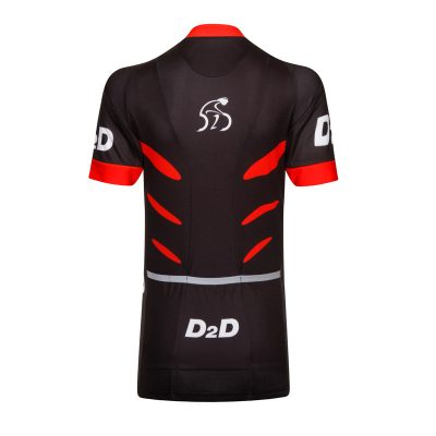 D2D Ladies Jersey V2 Red Back