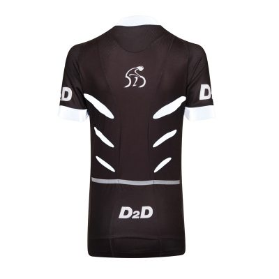 D2D Ladies Jersey V2 White Back