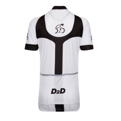 D2D Ladies Jersey V3 White Back