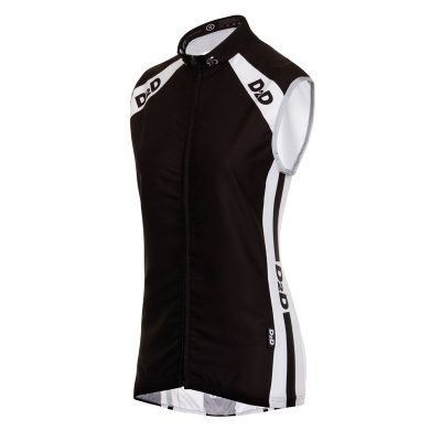 D2D Ladies Wind Gilet Angle