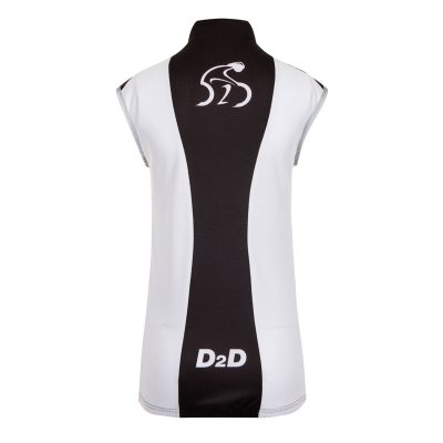 D2D Ladies Wind Gilet Back
