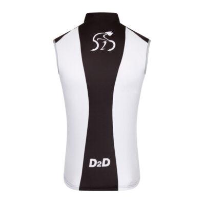 D2D Mens Wind Gilet - Back