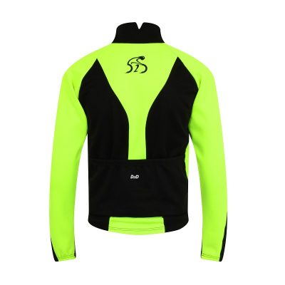 Men's Wintershield II Winter Cycling Jacket - Back