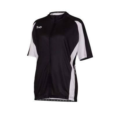 p1s white women's plus size cycling jersey front