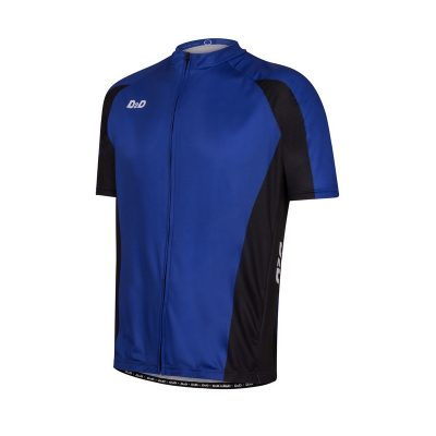 p1s blue mens plus size cycling jersey front