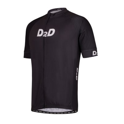 p2r grey men's plus size cycling jersey front
