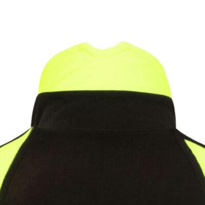 roubaix cycling jersey fluoro collar