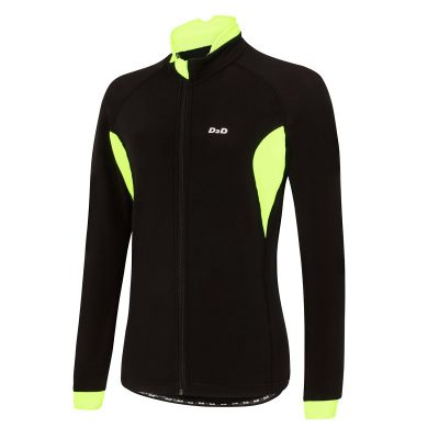 ladies roubaix cycling jersey fluoro front