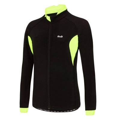 ladies plus size roubaix cycling jersey fluoro front