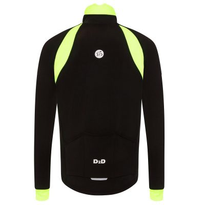 mens plus size roubaix cycling jersey fluoro back