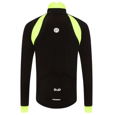 mens roubaix cycling jersey fluoro back