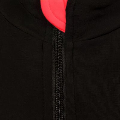 roubaix cycling jersey red zip