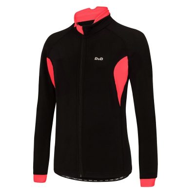 ladies plus size roubaix cycling jersey red front