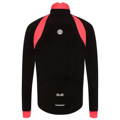 mens plus size roubaix cycling jersey red back