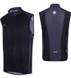 mens plus size windproof gilet