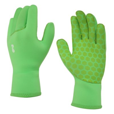 hi viz neoprene cycling gloves