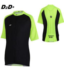 hi-viz plus size cycling jersey