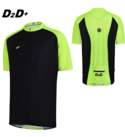 hi-vis plus size cycling jersey