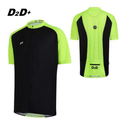 hi-vis plus size cycling jersey
