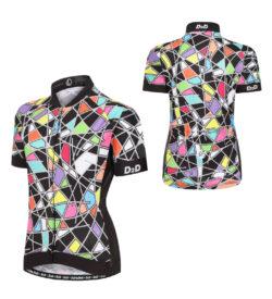 ladies short sleeve cycling